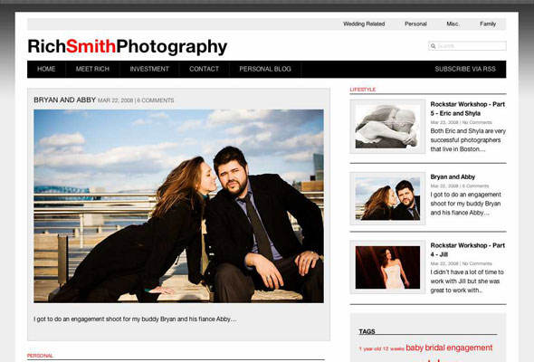 Rich Smith Photography powered by Graph Paper Press
