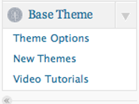 Theme Options Framework