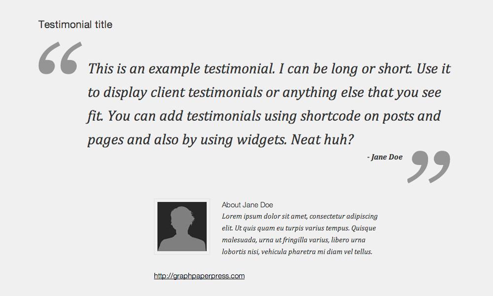 gpp-testimonial-widget