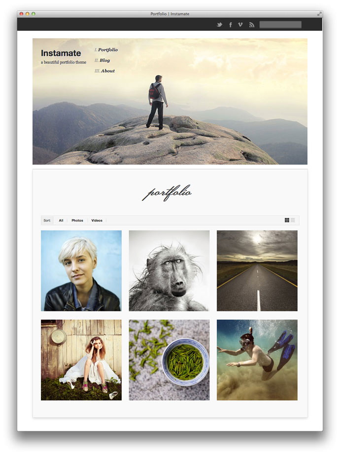 instamate-header-portfolio-grid-light