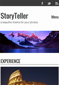 Storyteller responsive wordpress theme