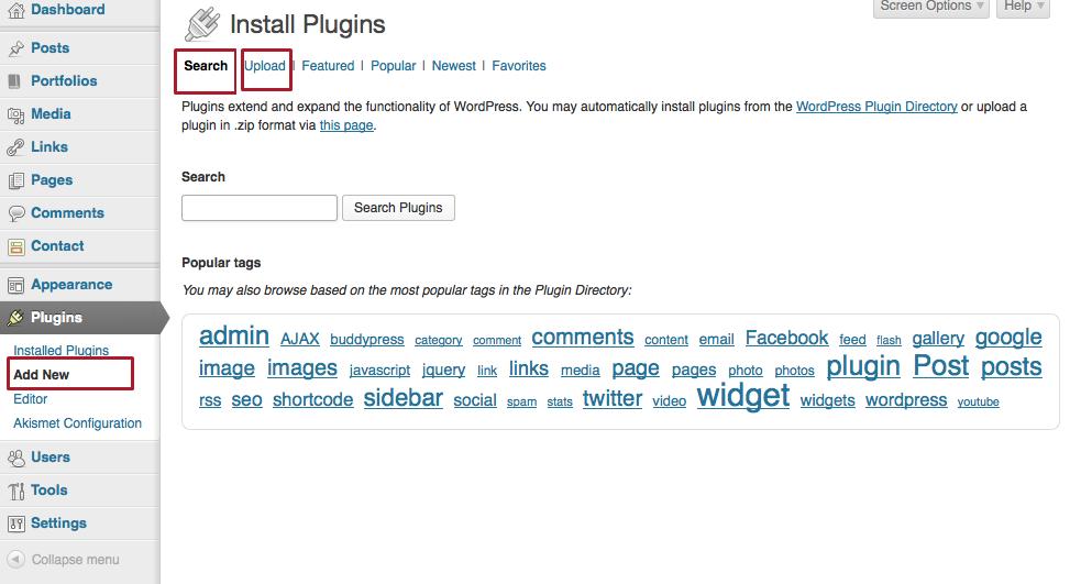 Install Plugins | Graph Paper Press