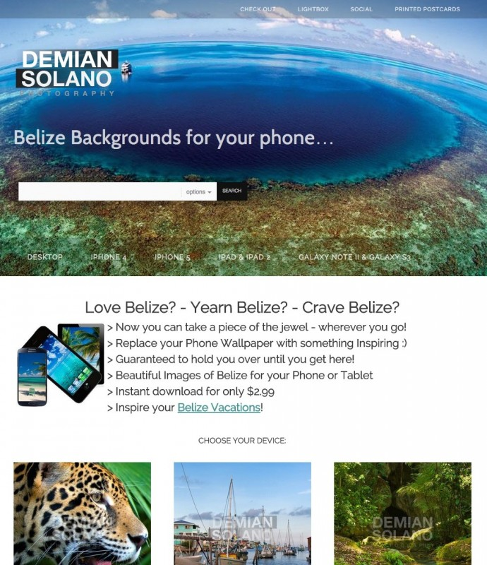 BelizePostcards