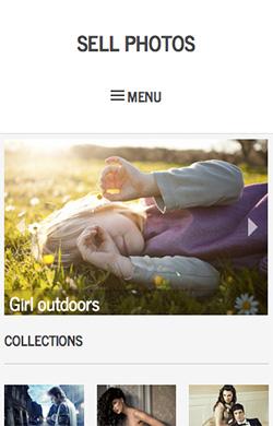 Sell Photos responsive wordpress theme