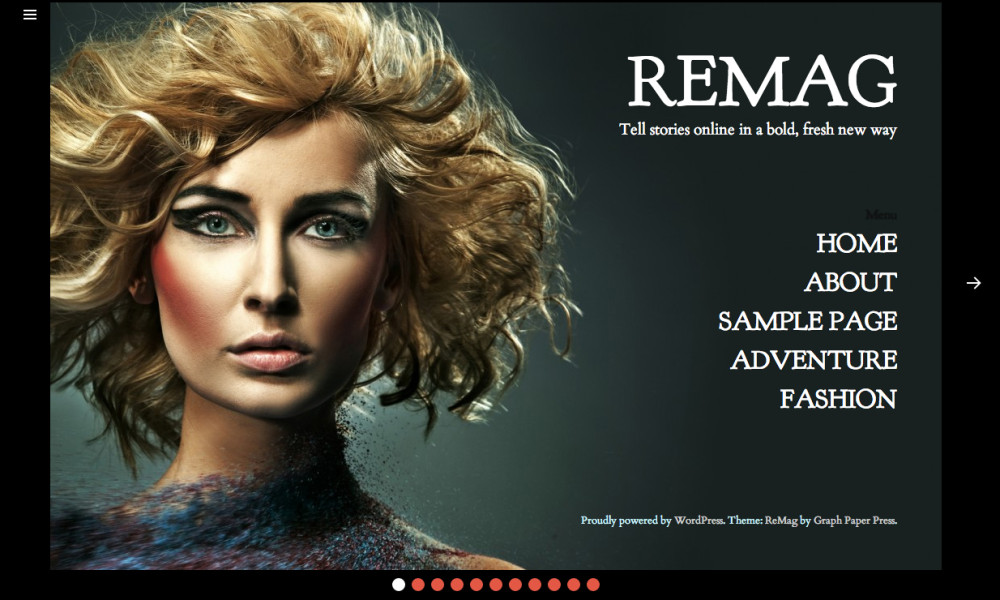 ReMag WordPress Theme