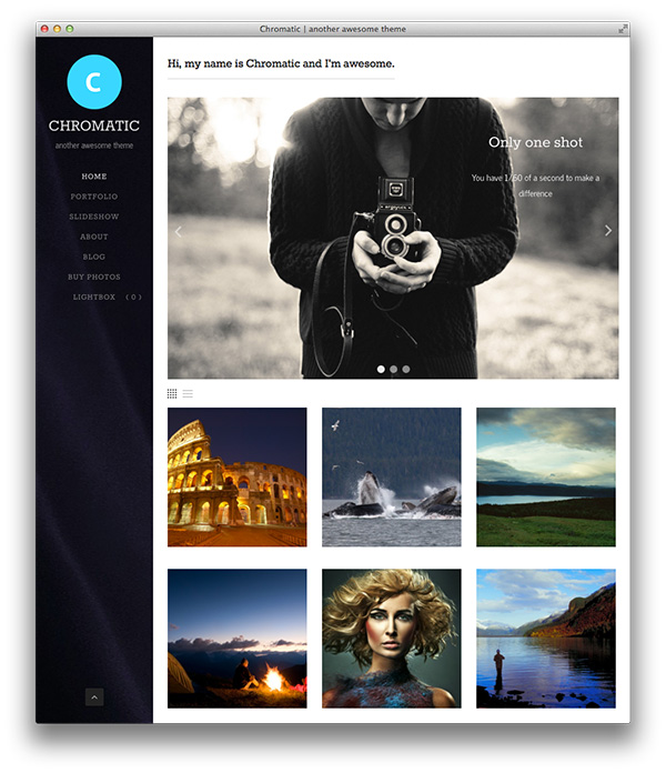 Chromatic-WordPress-theme