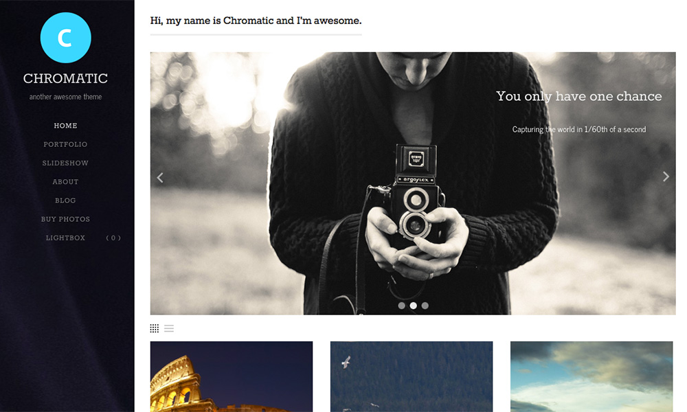 Introducing chromatic the ultimate wordpress portfolio theme introducing chromatic the ultimate wordpress portfolio theme graph paper press pronofoot35fo Images