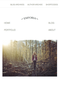 Emporia responsive wordpress theme
