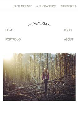 Emporia responsive wordpress theme