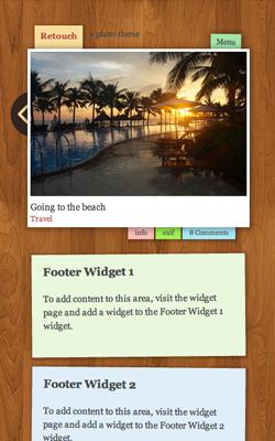 Retouch responsive wordpress theme