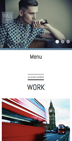 Wall Street responsive wordpress theme