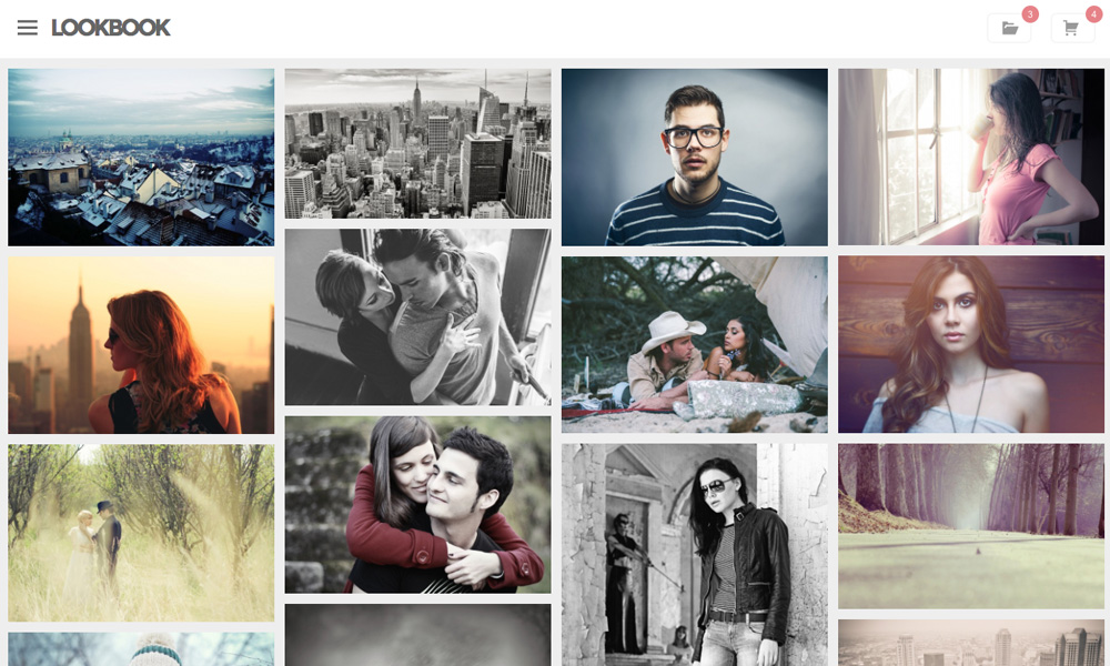 Lookbook - Portfolio WordPress Theme | Graph Paper Press