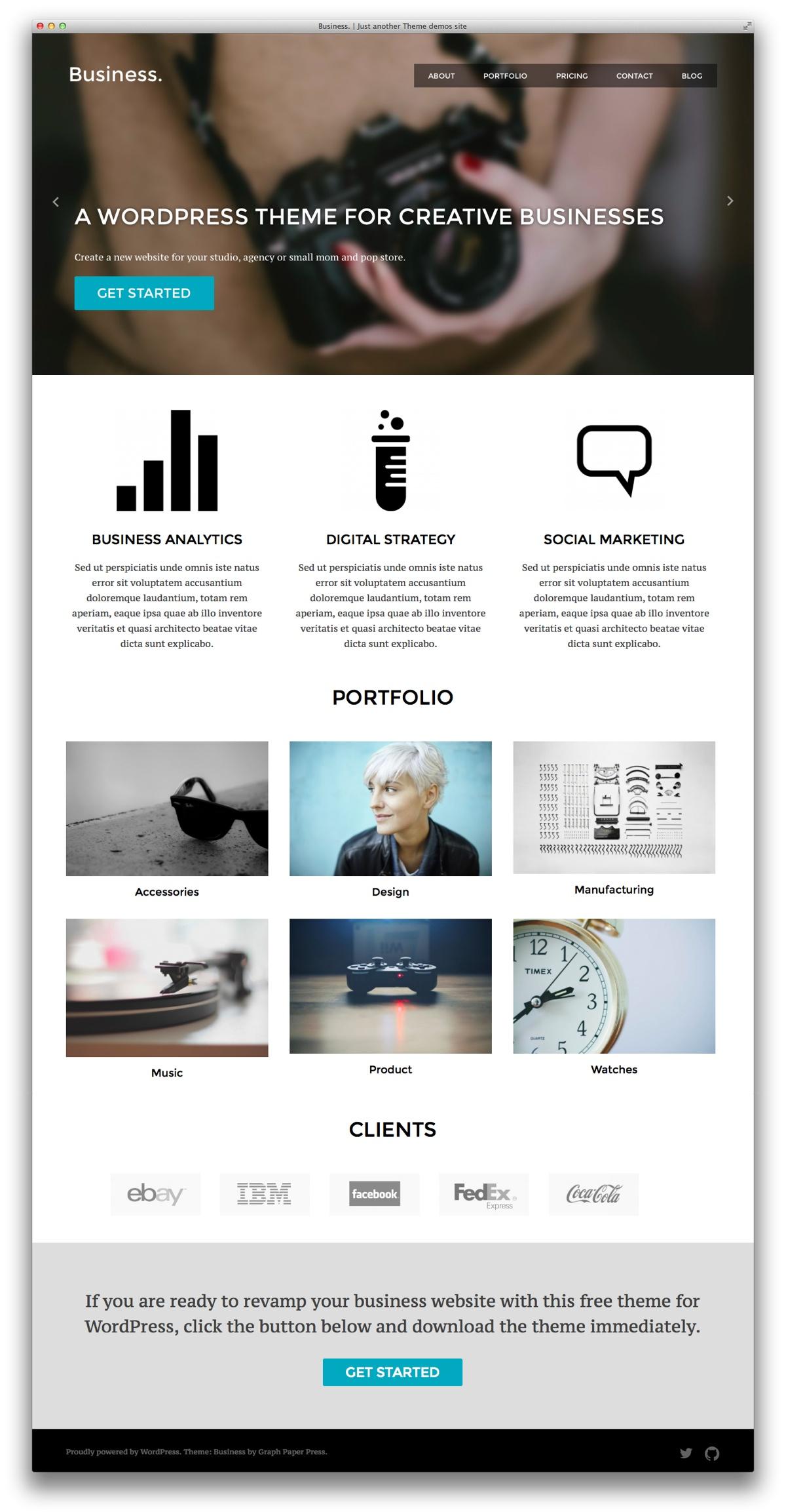 How To Convert Free WordPress Design Into Portfolio