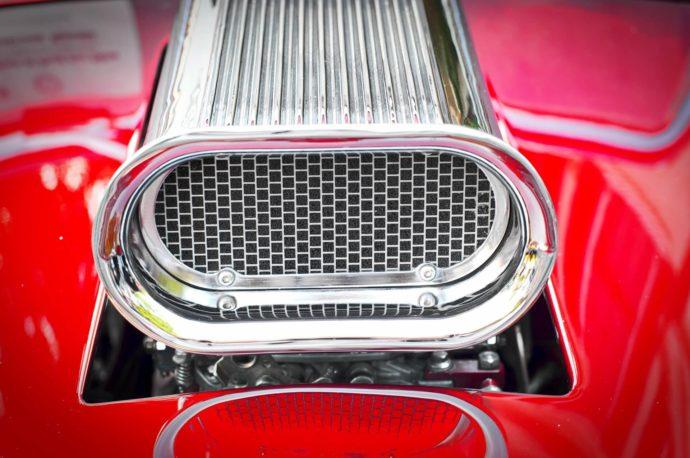 A car's supercharger.