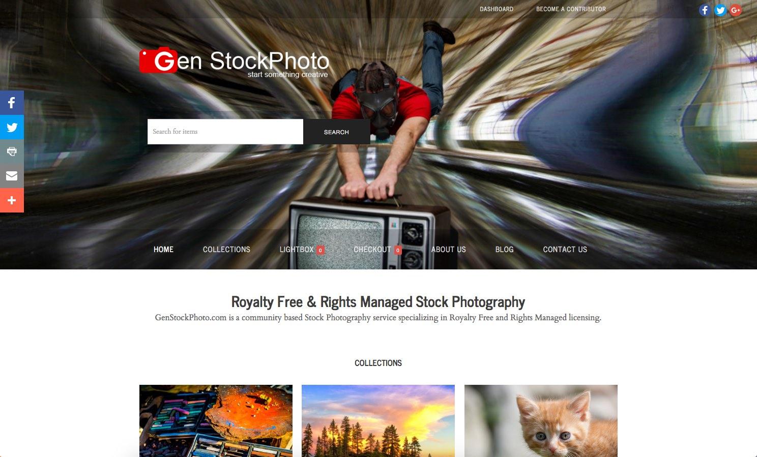 Gen Stock Photo