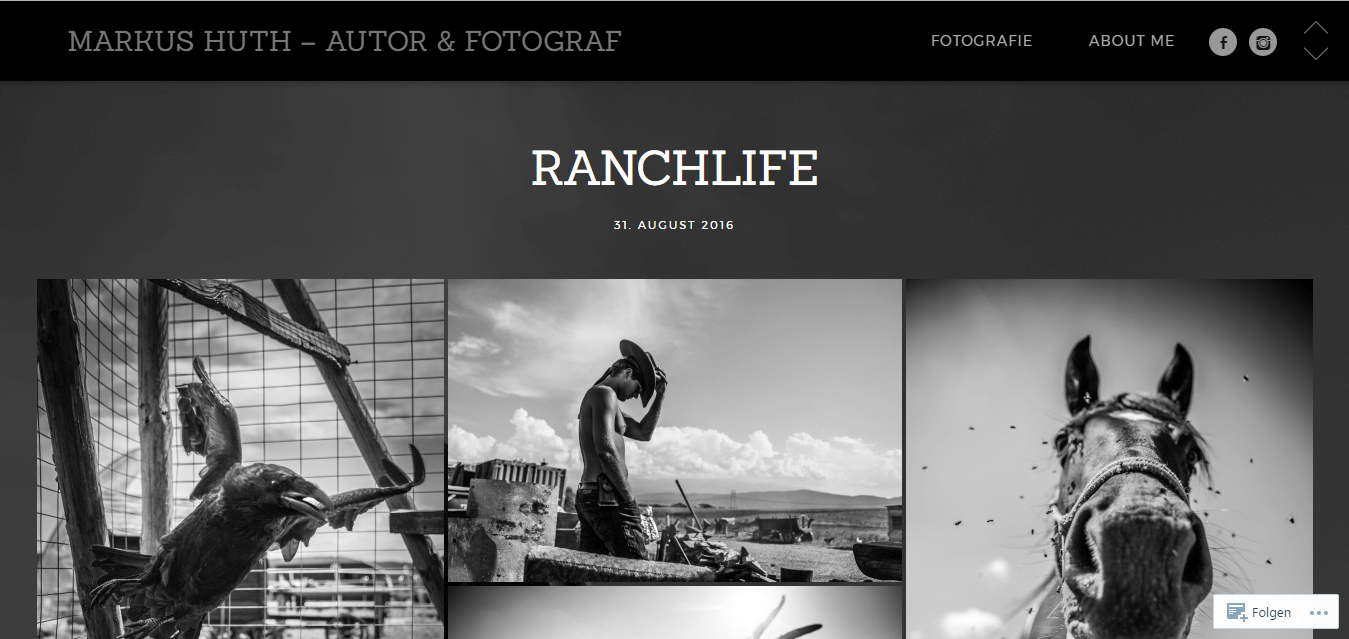Markus Huth Photography homepage