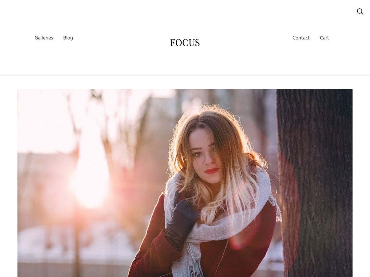 focus wordpress theme