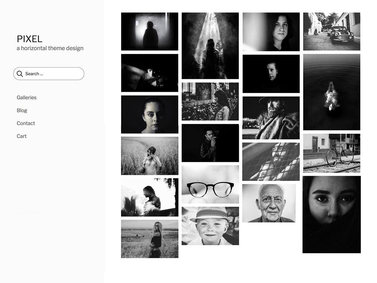 pixel wordpress theme